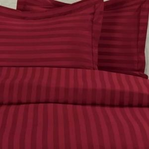 Other - Dark red duvet cover only (no pillow shams)